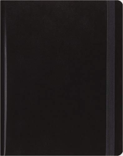 BIBLE ESV JOURNALING 910 Black 1 Year Reading Plan 7.5 PT