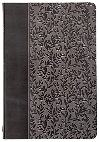 TPT GREY FAUX LEATHER  W1  9 PT NEW TESTAMENT