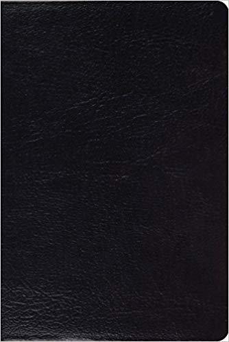 ESV STUDY PERSONAL BLACK GENUINE 7.5 PT