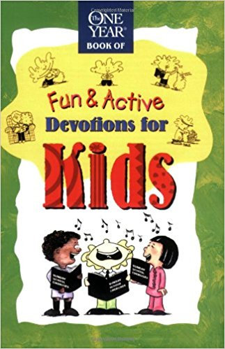 1 Yr Fun & Active Devotions for Kids Children