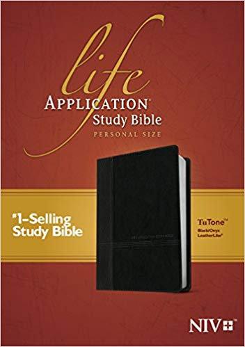 NIV LASB PERSONAL BIBLE BLACK LEATHERLIKE  7.7 PT