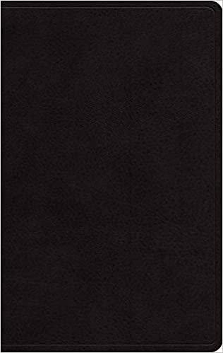 ESV LARGE PERSONAL BLACK GENUINE 12 PT RL