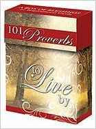 PROMISE BOX 101 PROVERBS TO LIVE BY BX041 51 CARDS