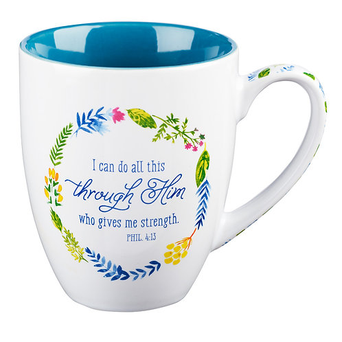 Mug I Can Do All This Philippians 4:13