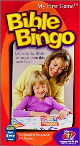 Bible Bingo Game Ages 4+ 99457