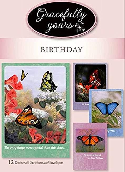 CARD BOX BIRTHDAY BLESSED 15.90 SKU 202