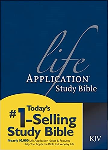BIBLE KJV LIFE APPLICATION LARGE INDEX 031 HC 11.5 PT RL