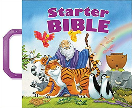 STARTER BIBLE (BOARD BOOK, AGE 4-8, 050)