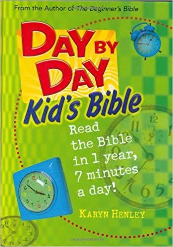 DAY BY DAY KIDS BIBLE 360 KARYN HENLEY CHILDREN AGE 7 TO 10 HC