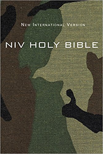 BIBLE NIV COMPACT 900 Soft Cover Army 6.6 PT
