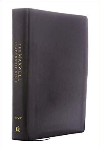NIV MAXWELL LEADERSHIP BURGUNDY PREMIUM 3RD ED 9.3 PT