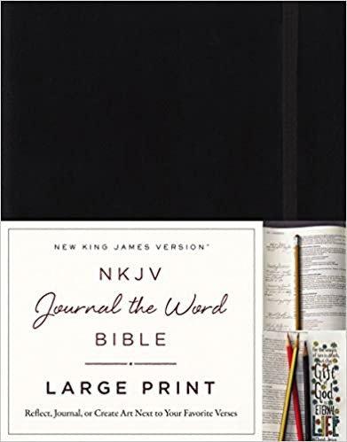 BIBLE NKJV JOURNAL THE WORD HC Large 10 PT Wide Margin