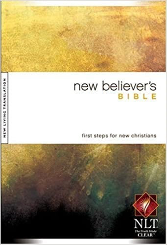 BIBLE NLT NEW BELIEVERS 553 HC 8.5 PT