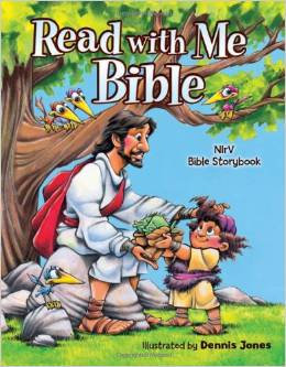 Read with me Bible NIrV Children Hardcover Age 4-7