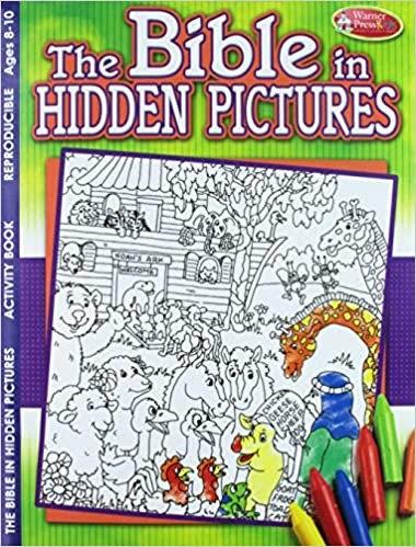 BIBLE IN HIDDEN PICTURES CHILDREN ACTIVITY AGES 8 - 10