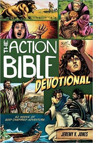 Action Bible Devotional: 52 Weeks of God-inspired Adventure - Jeremy Jones
