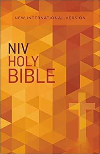 NIV soft cover ORANGE 8 PT
