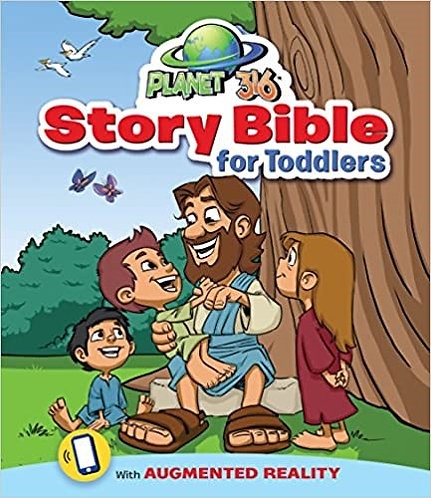 PLANET 316 STORY BIBLE FOR TODDLERS CHILDREN AGE 2 TO 5 BOARD 32 PG