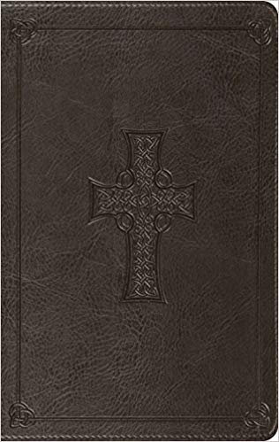 BIBLE ESV THINLINE 352 Brown Imitation Value 7.5 PT
