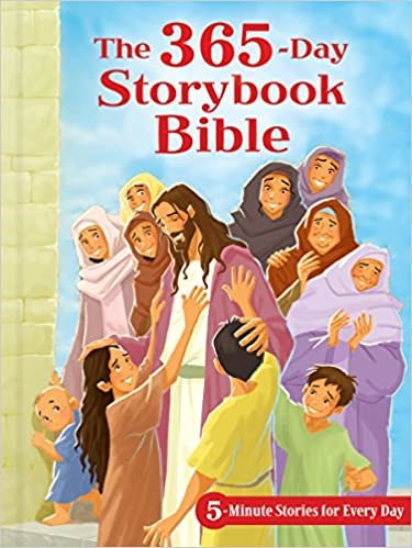 365 DAY STORYBOOK BIBLE AGE  4  -10