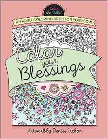 Color your Blessings Adult Coloring Denise Urban