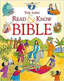 LION READ & KNOW BIBLE 594 SOPHIE PIPER CHILDREN SC AGE 5 - 7 384 PG
