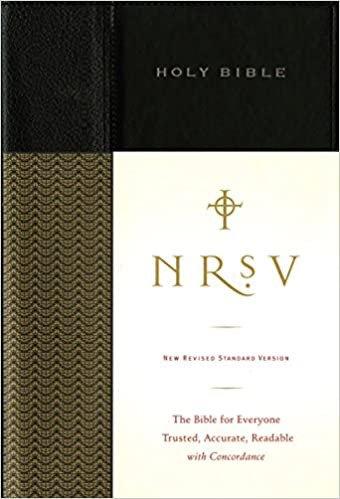 NRSV STANDARD 516 BLACK HC 10 PT
