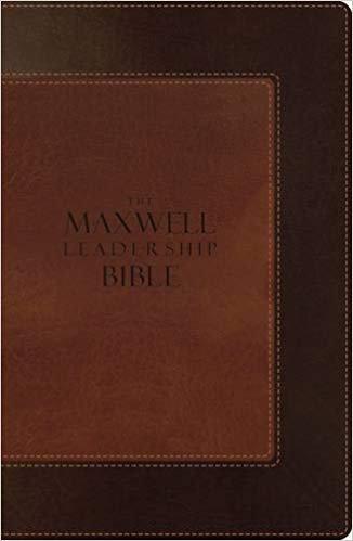 BIBLE NIV MAXWELL LEADERSHIP 919 Brown Leathersoft 9 PT