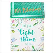 PROMISE BOX 101 BLESSINGS LET YOUR LIGHT SHINE