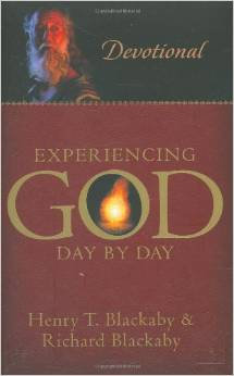 Experiencing God Devotion Henry Blackaby Author