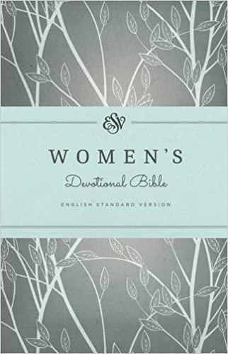 BIBLE ESV WOMENS DEVOTIONAL 162 Hard Cover 8.5 PT