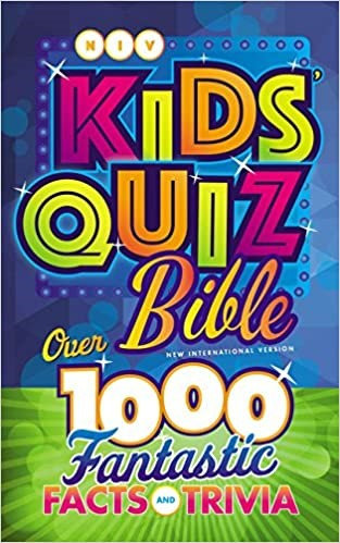 BIBLE CHILDREN NIV 222 KIDS QUIZ Hard Cover Age 8 - 12