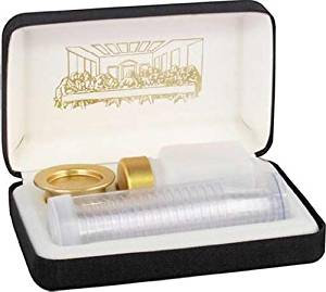 Communion Portable Brasstone RW16 Disposable set