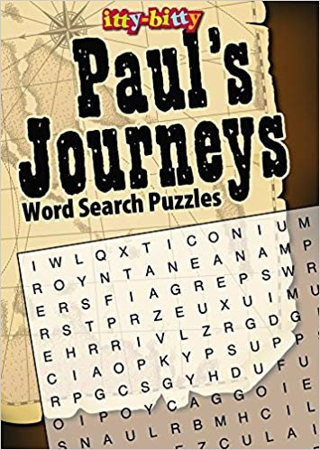 IttyBitty Activity Book Paul's Journeys Word Search Puzzles