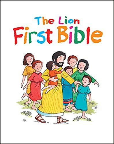 THE LION FIRST BIBLE - PAT ALEXANDER (HARD COVER, AGE 3 -7, 033)