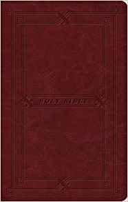 ESV VALUE THINLINE 127 BURGUNDY TRUTONE  7.5 PT