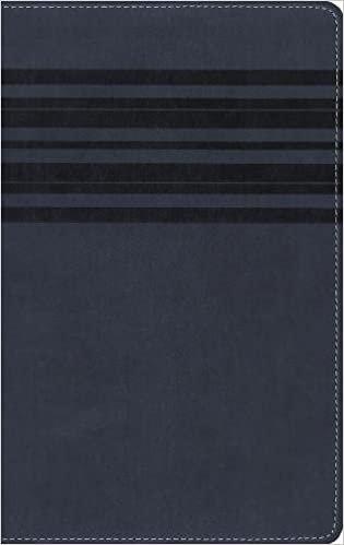 NIRV LARGE 927 BLUE LEATHERSOFT 8 PT