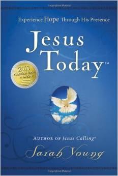Jesus Today Sarah Young Hardcover