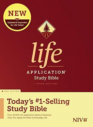 BIBLE NIV LIFE 048 APPLICATION INDEX Hard Cover  8.5 PT  3RD ED