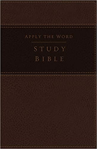 NKJV APPLY THE WORD STUDY LARGE INDEX BLACK LEATHERSOFT RL 10.5 PT