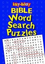 IttyBitty Activity Book Bible Word Search Puzzles - Pack of 6