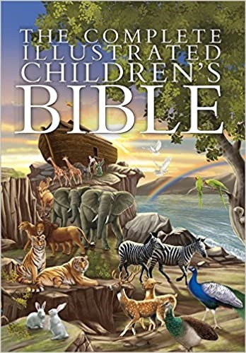 COMPLETE ILLUSTRATED CHILDRENS BIBLE CHILDREN HC AGE 5 - 8