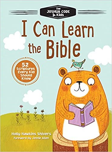 I CAN LEARN THE BIBLEHOLLY SHIVERS DEVOTIONS HC JOSHUA CODE AGE 4 TO 8