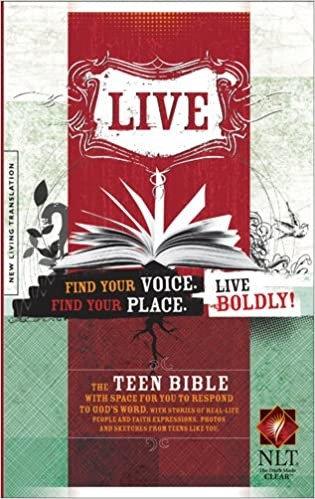 BIBLE NLT LIVE TEEN SC 8 PT