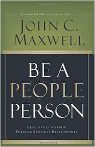 Be a People Person John Maxwell Author Hardcover