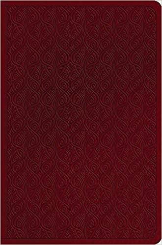 BIBLE ESV COMPACT 923 Red Imitation Trutone Value 6 PT
