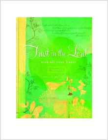Journal Trust in the Lord - Hardcover, Green
