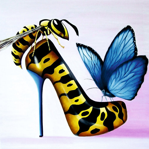 Wasp & Butterfly