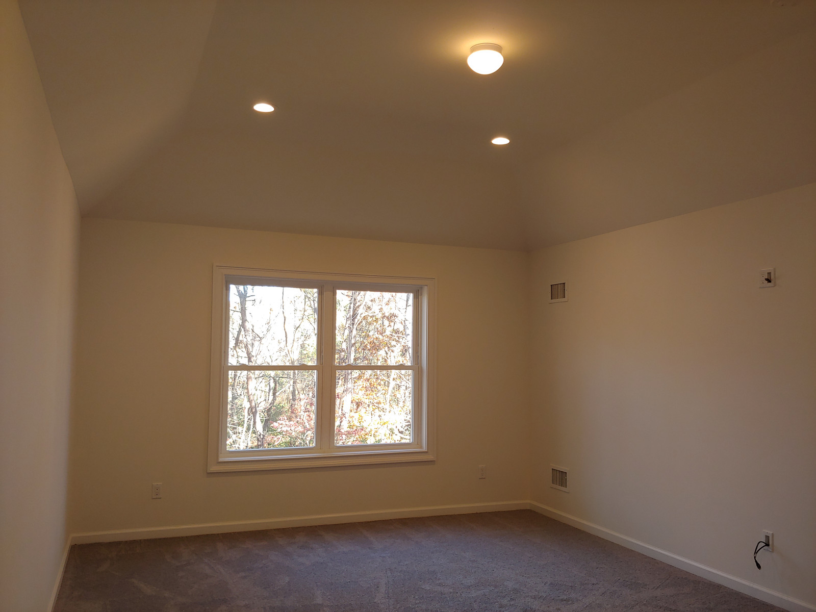 Master Bedroom w/ Tray Ceiling