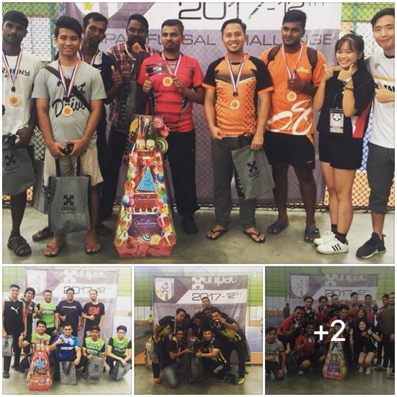 Unipac Tournament at Sports Planet Kota Damansara!